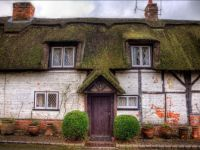 A Thatched Cottage Near Sutton Scotney. UK.