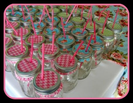 Summer Entertaining Idea to keep the bugs out.