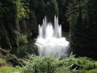 Fountains at Buchart Gardens