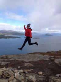 Jumping of joy!
