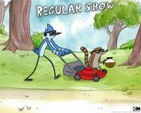 Mordecai and Rigby on the Job