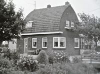 our house before the flood in 1953