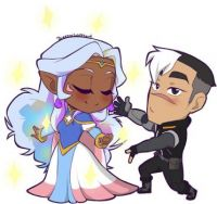 Shiro and Allura