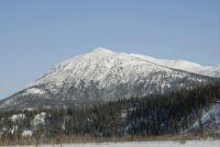 Mountain along the Alaska Haul Road