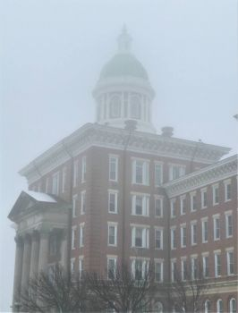 Winter Morning Fog, State Hospital (large)