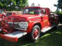 Vintage Ford pumper