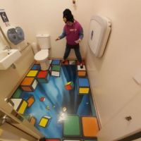 Room in Puzzle World, Wanaka, NZ