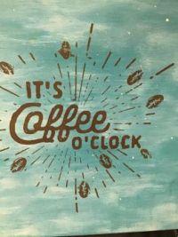 It's coffee o clock