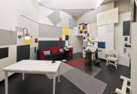Mondrian Created One Of His Painting Out Of His Entire Liviing Room