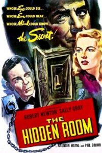 THE HIDDEN ROOM - 1947 POSTER  ROBERT NEWTON, SALLY GRAY