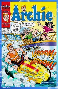 Archie #549 Summer Fun