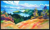 Easter Bluff View by Dianne Bersea