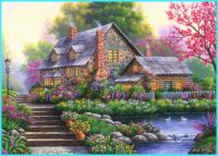 Country Flower Cottage