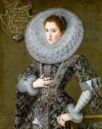 Portrait of Doña Ana de Velasco y Girón, duchesse of Braganza