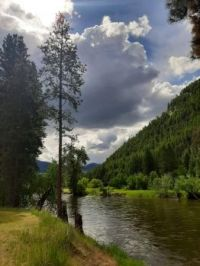 Kettle River, Midway, BC, Canada