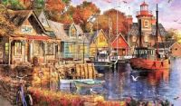 Quiet Village Harbour
