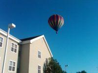 Ballon Over Hotel