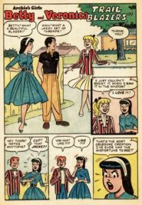 Betty And Veronica: Trail Blazers