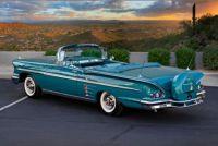 1958 Chevy Impala convertible...  bandit....