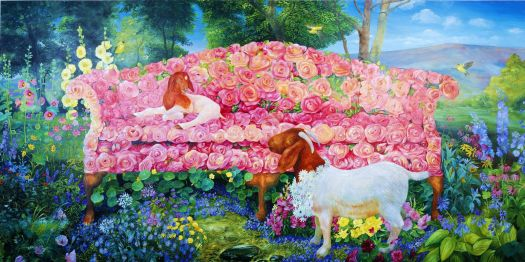 Goats and Roses