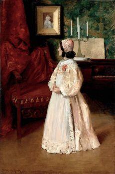 Portrait of My Daughter Alice, c. 1895, William Merritt Chase