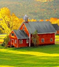 One Room Schoolhouse in New England...-