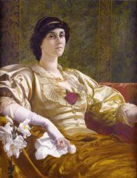 William Blake Richmond Ethel Bertha Harrison second half of 19th century