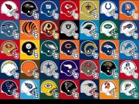 NFL Background Helmets