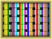 Stripes 'n Weaves - v. lrg