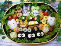 Totoro themed Bento Box Lunch
