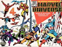 Marvel Universe Handbook Weapons and Hardware