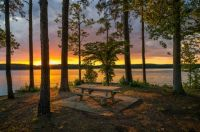 West Point Lake, GA and AL, USA