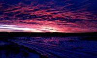Massachusetts sunset
