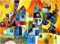 BURANO Painting by Miljenko Bengez