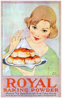 Vintage ad - Royal Baking Powder