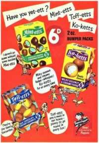 Themes Vintage ads - Poster Chocolates