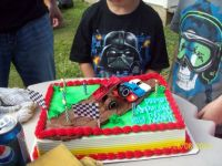 Leland's 6th B-Day cake