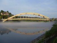 Štěchovice, most