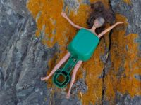 Beach trash Barbie