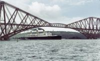 MAJESTIC in the Firth of Forth