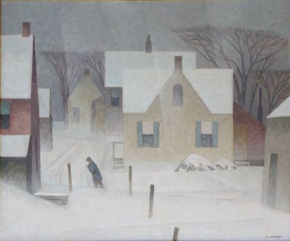 Snowstorm, A. J. Casson