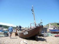 Old Town Hastings fishing boats 3
