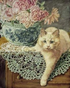 Jan Benz - Peonies and Lace