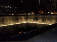 Pool at 9/11 site..NYC