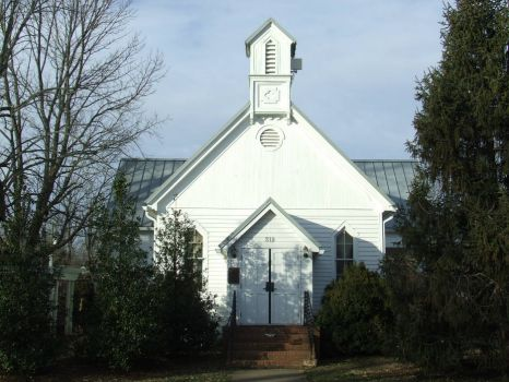 Gordonsville Va! Church in town-1872