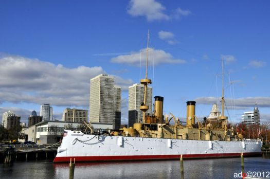 The USS Olympia by Andy Dinh Photography