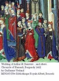 Wedding of Arthur and Gunivere
