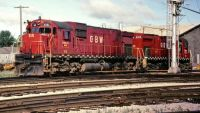 GB&W ALCO power takes on fuel at Norwood Shops