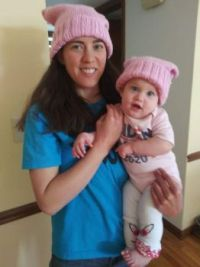 Katie Annabelle in hats