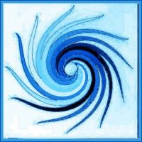 032518 Theme: Blue Tentacle Swirl